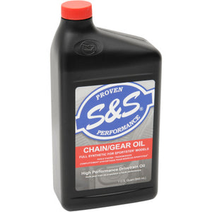 S&S Cycle High Performance Full-Synthetic Chain / Gear Oil