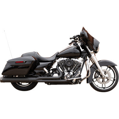 S&S Cycle Sidewinder 2:1 50 State Exhaust System - 2007-2016 FL - Black