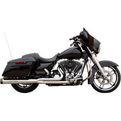 S&S Cycle Sidewinder 2:1 50 State Exhaust System - 2007-2016 FL - Chrome