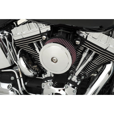 S&S Cycle Stealth Air Cleaner Cover - Bob Dome - Chrome