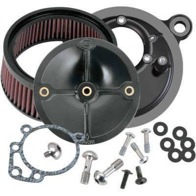 S&S Cycle Super Stock Stealth Air Cleaner Kit - 1993-1999 Evo Big Twin w/ Stock CV Carb