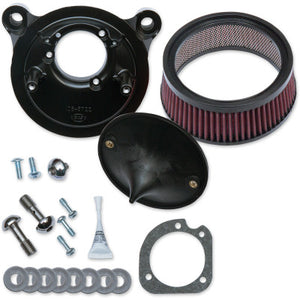 S&S Cycle Super Stock Stealth Air Cleaner Kit - 2001-2017 Twin Cam