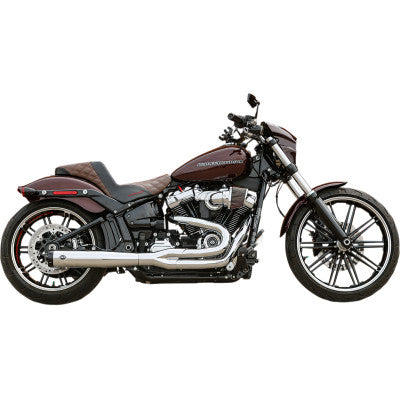 S&S Cycle SuperStreet 2:1 50 State Exhaust System - M8 Softail - Chrome