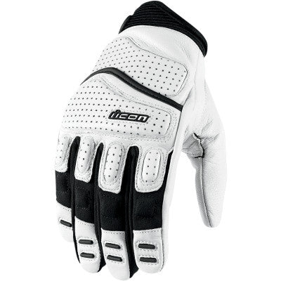Icon Contra2 Gloves - White