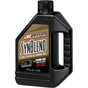 Maxima Racing Oils SynBlend Semi-Synthetic Oil - 20W50
