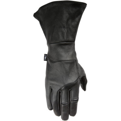 Thrashin Supply Co. Gauntlet Gloves - Black Insulated