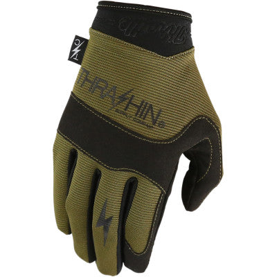 Thrashin Supply Co. Covert Gloves - Green