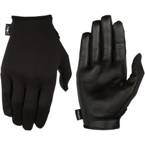 Thrashin Supply Co. Stealth Leather Palm Gloves - Cobalt Cycles
