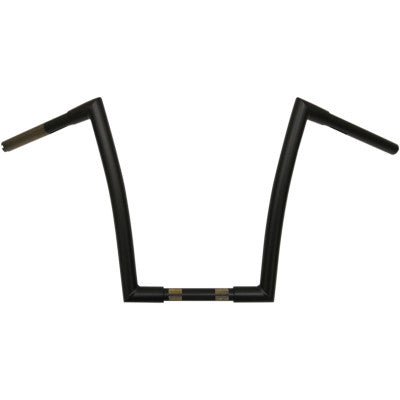 "Todd's Cycle 1-1/4"" Strip Handlebar - 14"" Ape Hanger - Satin Black"
