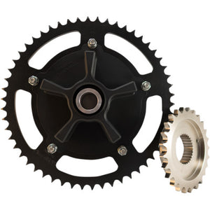 Trask 530 Chain Drive Conversion Kit - 51 Tooth - Cobalt Cycles