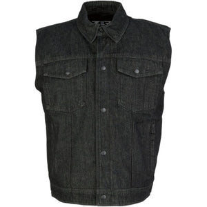 Z1R Denim Vest - Cobalt Cycles
