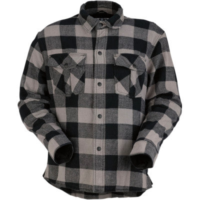 Z1R Duke Flannel Shirt - Cobalt Cycles