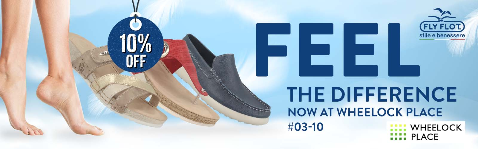 Fly Flot footwear from Italy now available at Orchard Road