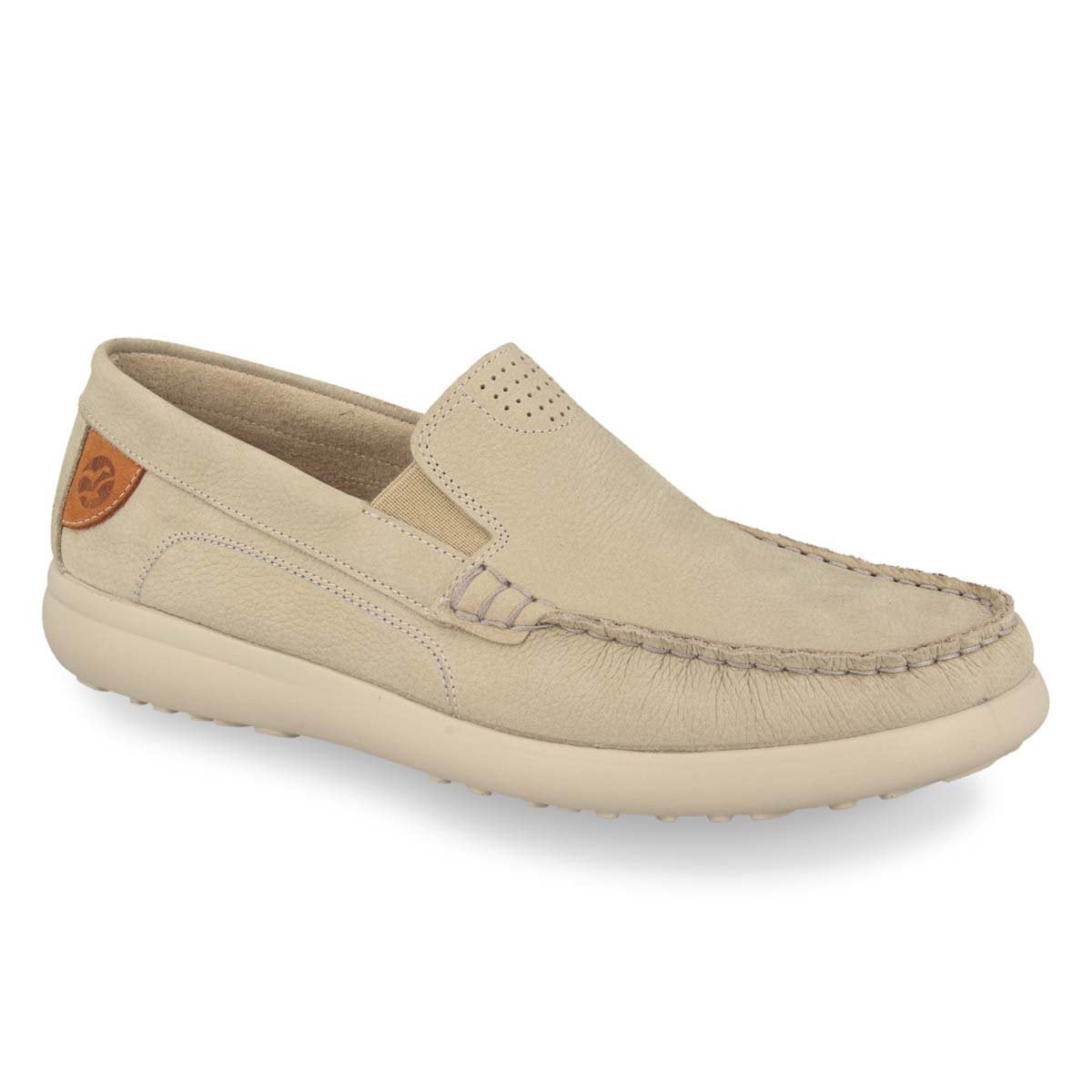 Photo of the Leather Man Mocassin Beige (14013yg)