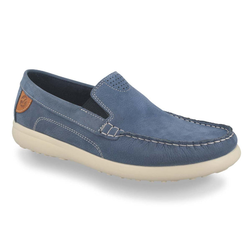 Photo of the Leather Man Mocassin Pale Turquoise (14013yg)