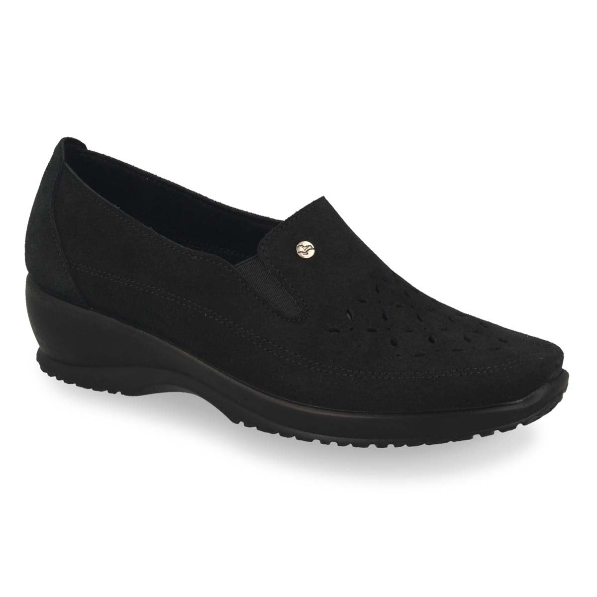 Photo of the Leather Woman Shoe Black (17d97sq)