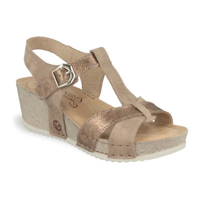 See photos Leather Woman Sandal Taupe (332167G)