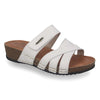 Photo of the Leather Woman Slipper White (23165gg)