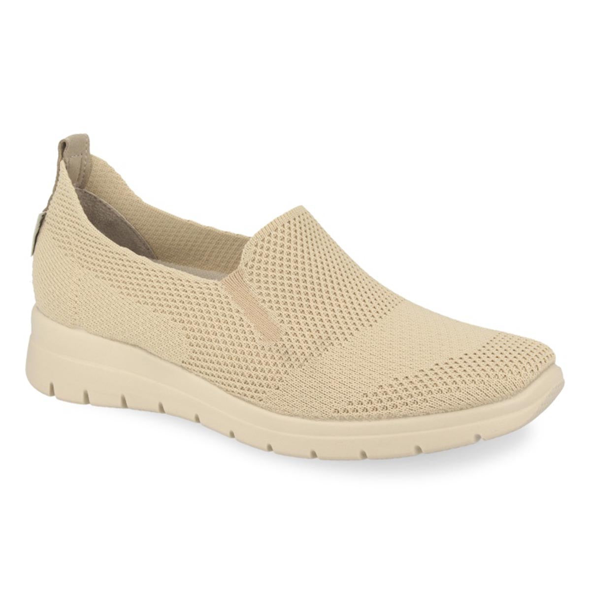 Cloth Woman Shoe Beige (27d38kq)