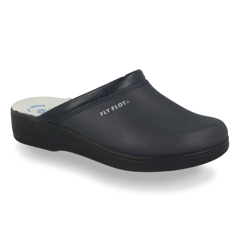 Photo of the Leather Man Slipper Blue (28093bc)