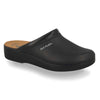 Photo of the Leather Man Slipper Black (28093bc)