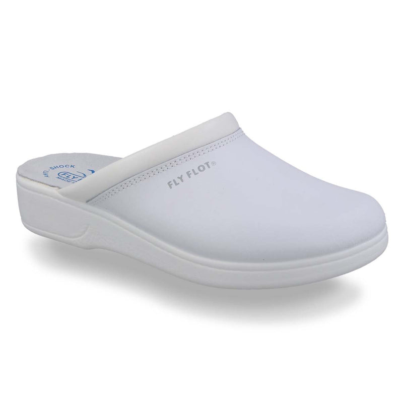 Photo of the Leather Man Slipper White (28093bc)
