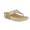 Photo of the Synthetic Woman Slipper Gold (38e60a2)