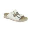 Photo of the Leather Woman Slipper White (39b16xv)