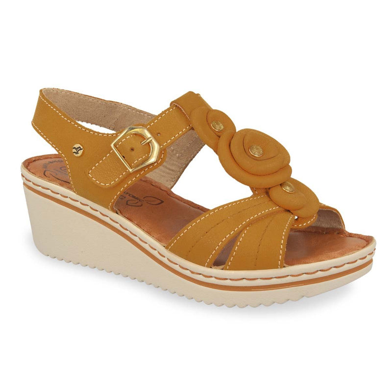 Photo of the Leather Woman Sandal Tan (41e54bg)