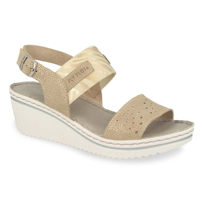 Photo of the Leather Woman Sandal Beige (41e88og)