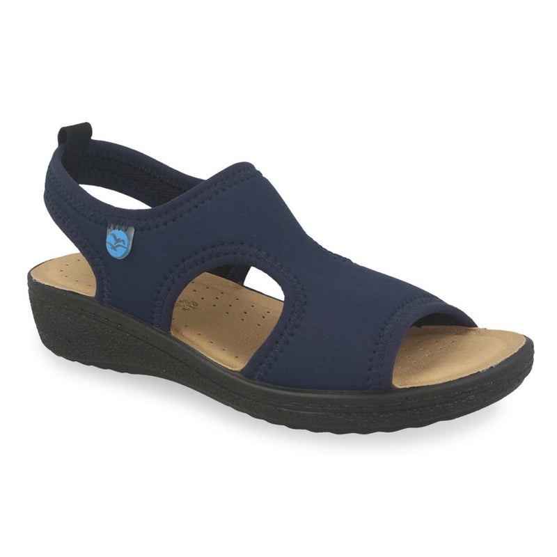 Photo of the Cloth Woman Sandal Blue (55b84lb)