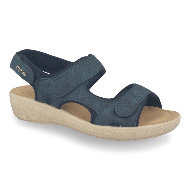 Photo of the Cloth Woman Sandal Blue (55f37cb)