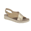 Photo of the Leather Woman Slipper Beige (56f12is)