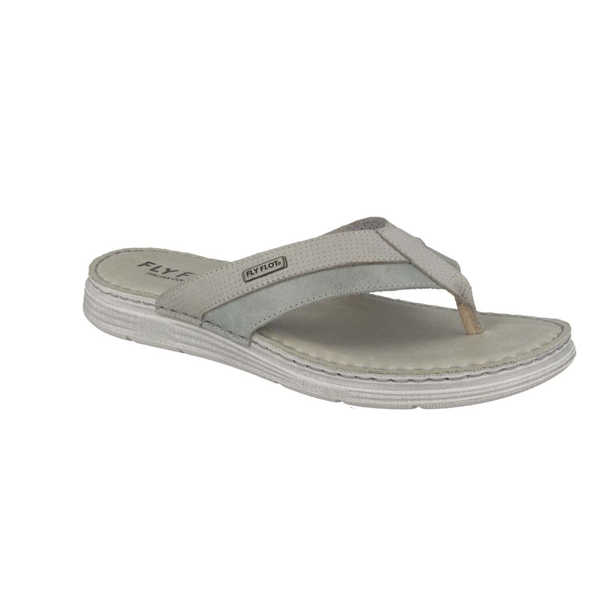 Photo of the Leather Man Slipper Grey (68128tg)