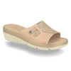 Photo of the Leather Woman Slipper Beige (71f23bg)