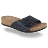 See photos Leather Woman Slipper Blue (15D137G)