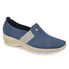 See photos Leather Woman Shoe Blue (17A8935)
