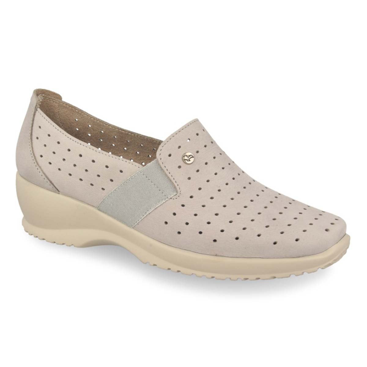 See photos Leather Woman Shoe Grey (17A8935)