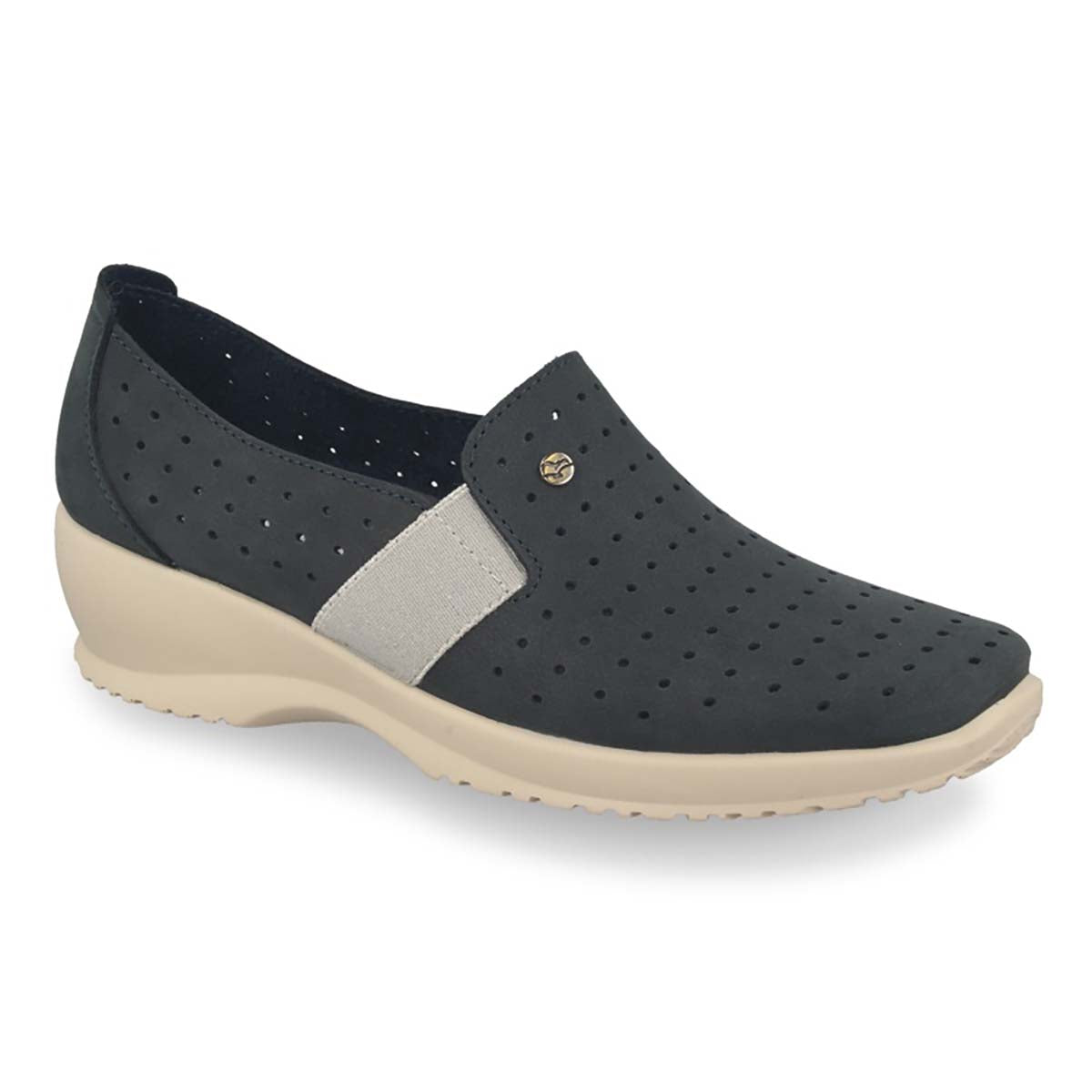 See photos Leather Woman Shoe Dark Blue (17A8935)