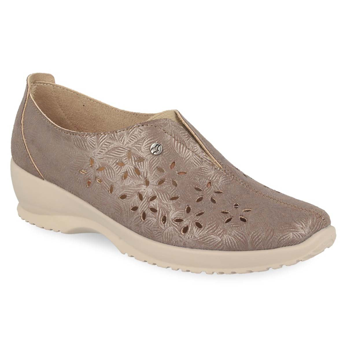 See photos Cloth Woman Shoe Taupe (17A91M5)