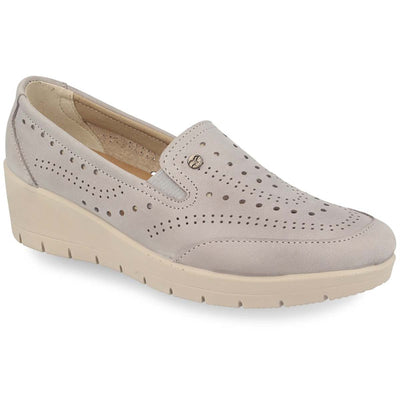 See photos Leather Woman Shoe Grey (18C87L5)