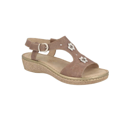 See photos Leather Woman Sandal Taupe (210868G)