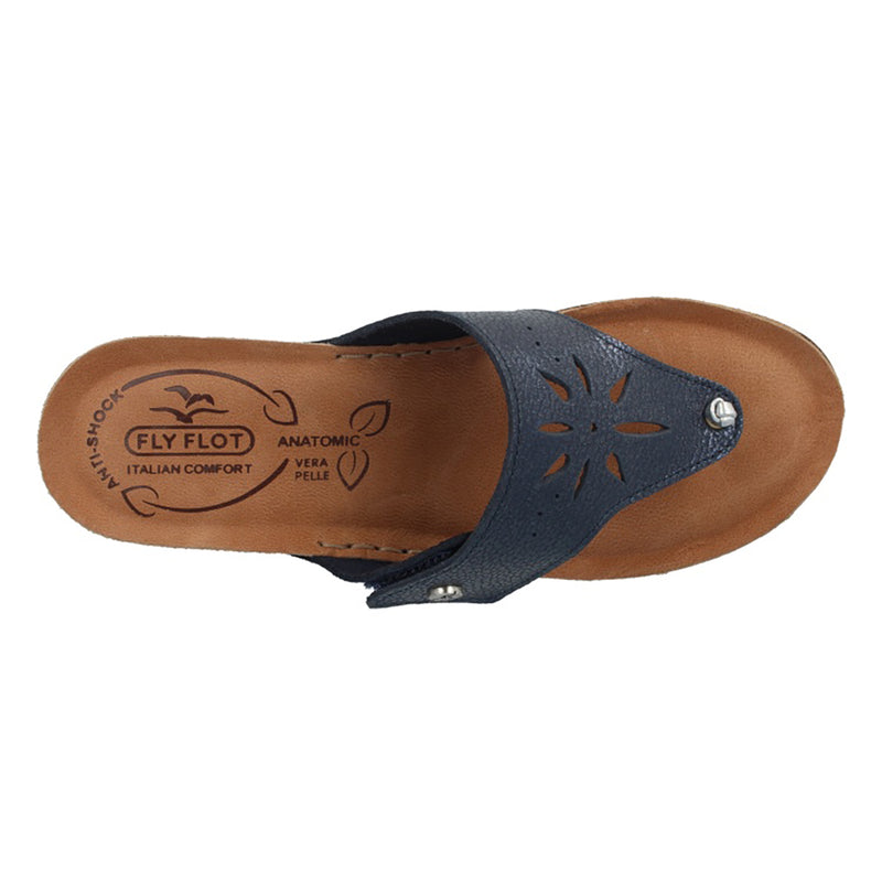 See photos Leather Woman Slipper Blue (231461G)