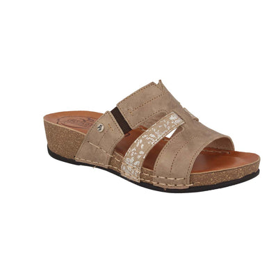 See photos Leather Woman Slipper  Taupe (23208PG)