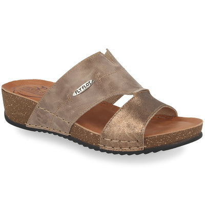 See photos Leather Woman Slipper Taupe (232487G)