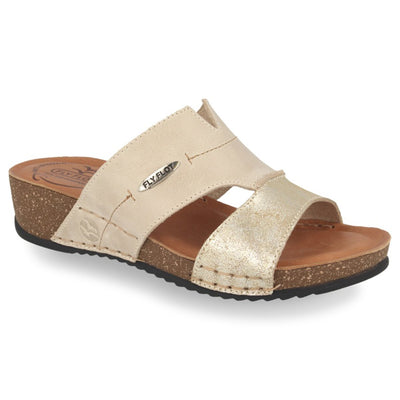 See photos Leather Woman Slipper Beige (232487G)