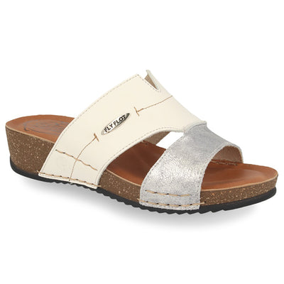 See photos Leather Woman Slipper Light Grey (232487G)