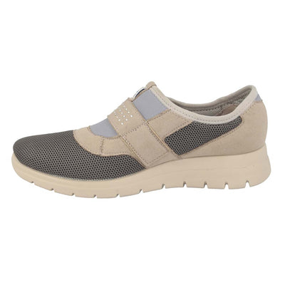 Cloth Woman Shoe Anthracite  (270B59   SQ)