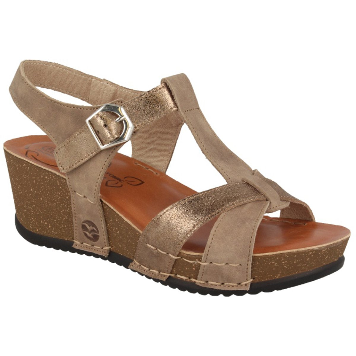 See photos Leather Woman Sandal Taupe (33216PG)