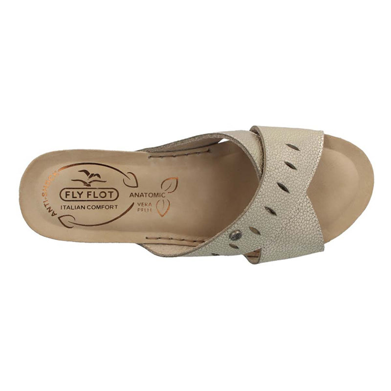 See photos Leather Woman Slipper Beige (33B031G)